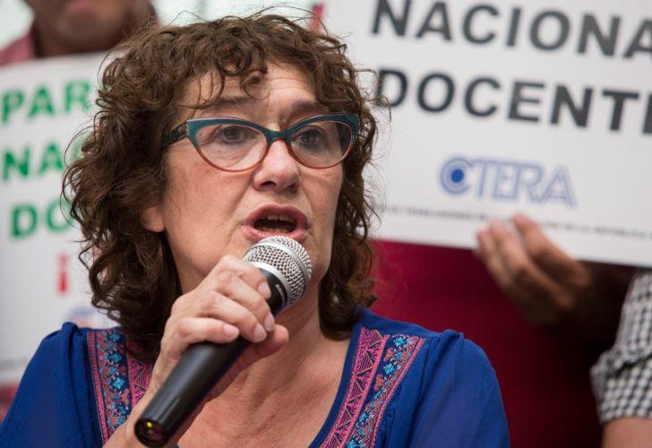 """Para Sonia Alesso """"es inadmisible que no haya paritaria"""""""